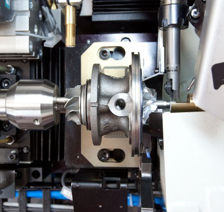 Xento - Balancing Machines for Turbocharger Core Assemblies